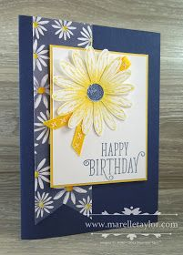Marelle Taylor Stampin' Up! Birthday Cards For Women, Handmade Birthday Cards, Happy Birthday Cards, Women Birthday, Pretty Cards, Cute Cards, Daisy Delight Stampin' Up, Stampin Up, Bday Cards
