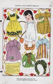 Resultado de imagen de jane and jill paper dolls