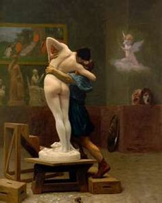 Pygmalion and Galatea, Jean-Leon Gerome