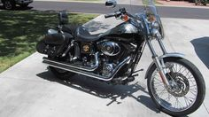 Used 2003 Harley-Davidson DYNA WIDE GLIDE ANNIVERSARY EDITION Motorcycles For Sale in Arizona,AZ. 2003 Dyna Wide Glide - 27, 209 Original miles - Silver & black hologram trim Excellent condition & includes the following equipment and upgrades: Easy pull clutch, back rest & luggage rack, hard saddlebags, straight pipes plus original factory pipes, alarm system, full rain cover, touring handle bars, cruise control, windshield & oil cooler. Included are matching helmet (XL) and luggage bags…