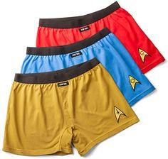 Boxers de Star Trek