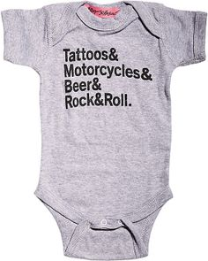 1c94e3d79 BOY ROCK AND ROLL ONESIE BLACK ready to wear tops tops knit Cool Onesies,  Betsey