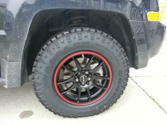 Goodyear DuraTrac 225-75-16s. No lift. - Jeep Patriot Forums