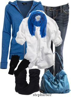 """Blues"" by stephiebees on Polyvore"