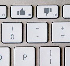 'Like or dislike' keyboard concept art. - W Technology