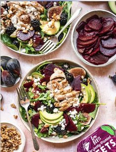 Grilled Chicken & Pickled Beet Salad - Love Beets