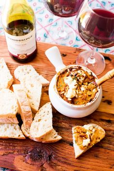 Roasted Butternut Squash and Goat Cheese Dip  #TIWWDI