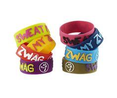Sweat My Zwag Wide Bracelets Zumba, Halloween Post, Rubber Bracelets, Swag, Stylish, Hot, Classic, Fitness, Shopping