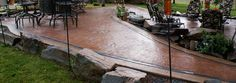 COLORED AND STAMPED CONCRETE - Google Search