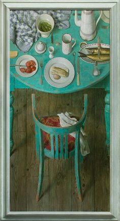 art-and-fury: Lunch with Mackerel - Kenne Gregoire (others of)