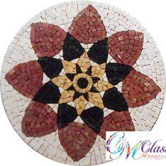 MD029 Marble Mosaic Medallion
