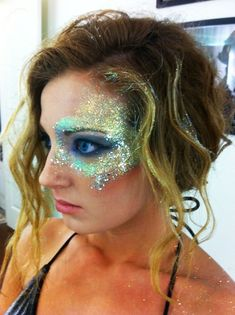 mermaid makeup for halloween #makeupideasfall