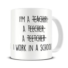 Misspelled Teachers Funny Mug