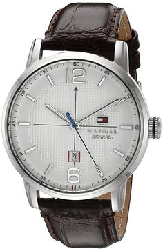 Tommy Hilfiger Men's 1791217 George Analog Display Japanese Quartz Brown Watch ** More info could be found at the image url. (This is an Amazon Affiliate link and I receive a commission for the sales)