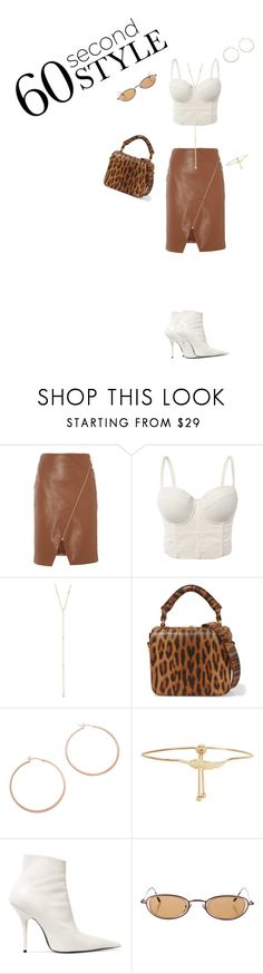 """""""The girl from the music video"""" by looksbydes ❤ liked on Polyvore featuring Biba, Jacquie Aiche, Sophie Hulme, Jennifer Zeuner, Accessorize, Balenciaga, 60secondstyle and PVShareYourStyle"""