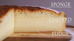 Magic cake 魔法のケーキ ガトーマジック マジックケーキの作り方