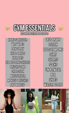 Transform Your Body With These Fantastic Fitness Tips Middle School Hacks, High School Hacks, Life Hacks For School, Girl Life Hacks, Girls Life, Back To School, Backpack Essentials, Gym Essentials, Hoe Tips