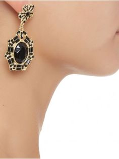 Glam drop earrings Gold 55