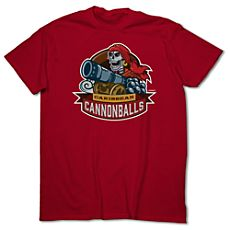 March Magic Tee for Adults - Caribbean Cannonballs - Limited Availability. Pirates of the Caribbean at Disneyland Resort