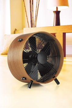 Stadler Form Wooden Otto Fan - Natural by Swizz Style #wood #retro - I love this - kind of mid-century modern but also really naturey