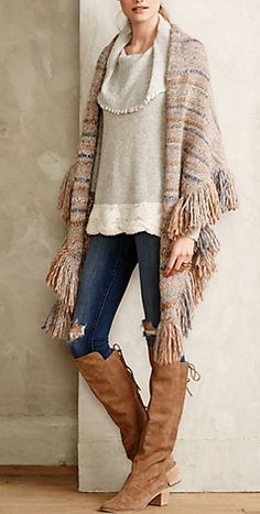 Gorgeous layered look for fall #AnthroFave http://rstyle.me/n/r4ansn2bn