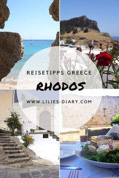 Rhodos Reisetipps – der perfekte Sommerurlaub in Griechenland Travel tips for the Greek city: Rhodes! Come on a dream trip Greece Vacation, Greece Travel, Check List Voyage, Travel Advice, Travel Tips, Beautiful Islands, Beautiful Places, Greece Holiday, Reisen In Europa