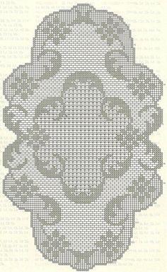 Kira scheme crochet: Scheme crochet no. Filet Crochet Charts, Crochet Doily Patterns, Crochet Diagram, Crochet Art, Thread Crochet, Crochet Scarves, Crochet Motif, Irish Crochet, Vintage Crochet