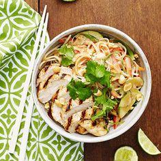 Thai Rice Noodle Bowl - FamilyCircle.com