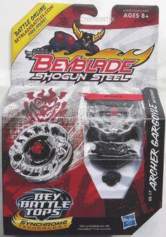 USA Beyblade ARCHER GARGOYLE Shogun Steel 2012 SS-17 American Version HASBRO NEW #Hasbro #Beyblade #Cyberontix