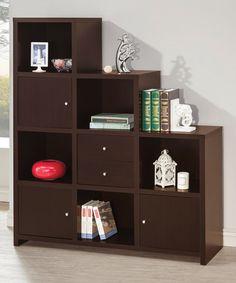 Look what I found on #zulily! Assymetrical Cube Bookshelf #zulilyfinds