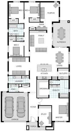 The miami new home design mcdonald jones homes floor plans pinterest mcdonalds miami Small bathroom floor plans australia