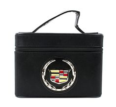 This glamorous Cadillac Cosmetic Case in Black also has a built in mirror!!