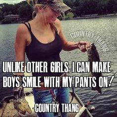 I'm not country but I do bring more then sex to the table.