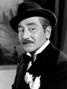 "4th Academy Awards - November 10, 1931. Adolphe Menjou (1890-1963), nominated for the Academy Award for Best Actor for ""The Front Page"""