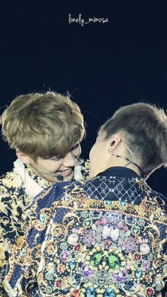 """Luhan: """"what if we kiss...?"""" Minseok: """"...do you want to give our fans a heart attack?"""""""