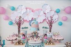 Kokeshi Doll Themed Birthday Party via Kara's Party Ideas | KarasPartyIdeas.com (26)