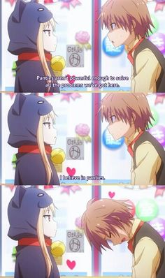 Sakurasou! I believe in oanties!! Haha, shiina is adorable.