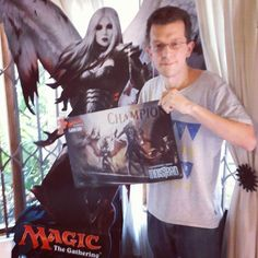 The Champion of our Shadows Over Innistrad Game Day: Warwick Masson!