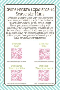 Young Women Divine Nature QR Code Personal Progress Scavenger Hunt Young Women Divine Nature Personal Progress Scavenger Hunt – Your Everyday Family Mutual Activities, Young Women Activities, Nature Activities, Indoor Activities, Summer Activities, Family Activities, Personal Progress Projects, Personal Progress Activities, Young Women Values