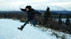 Kwangsoo in Alaska!