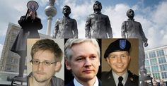 New Statue in Germany Illustrates Just How Much the Rest of the World Opposes the U.S. Police State Read more at http://thefreethoughtproject.com/life-size-bronze-statues-snowden-assange-manning-unveiled-berlin-heroes-lost-freedom-speaking-truth/#rcFbZU0rMZL5fA40.99