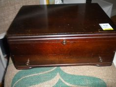 """What to do when you see a cutlery chest at Goodwill - I look at this and I see """"humidor"""""""