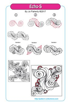 Hello everyone Here are the new patterns of this week for you! Enjoy Greetings, Nicole p.s. Have a look at the great creations which come out of the Tangle Game! Tangle G…