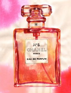 Chanel by Samantha Hahn Chanel No 5, Chanel Paris, Coco Chanel, First Perfume, Chanel Perfume, Fashion Sketches, Fashion Illustrations, How To Make Clothes, Pattern Illustration