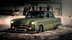 Early 50's Packard street rod, so cool...