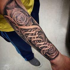 Tatuajes Para Hombres En El Brazo Nombres Fotos Tatuajes Para
