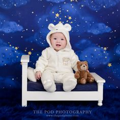 Sweet Baby Boy in his Teddy Bear Pajamas First Birthday Pictures, Girl First Birthday, Baby Boy Photos, Newborn Pictures, Cake Smash Pictures, Teddy Bear Cakes, Birthday Cake Smash, Baby Portraits, Celebrity Babies