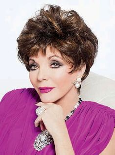Awesome Joan Collins Alexis Wig for sale online, Cheryl Cole Style Wig, Beyonce Style Wigs, Rihanna Style Wigs and All kinds of celebrity hairstyles for you With Lowest Price and high Quality. Celebrity Wigs, Celebrity Hairstyles, Trendy Hairstyles, Wig Hairstyles, Bad Hair, Hair Day, Cheryl Cole Style, Monofilament Wigs, Grey Wig