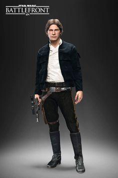 Han Solo / Star Wars Battlefront #StarWarsBattlefront #StarWars