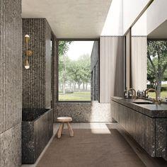 """Adam Jordan Architecture's Instagram photo: """"Adam Jordan Architecture"""" Contemporary Bathroom Designs, Modern Bathroom, Adam Jordan, Toilet Design, Retail Interior, Beautiful Bathrooms, Bathroom Inspiration, Home Interior Design, House Design"""